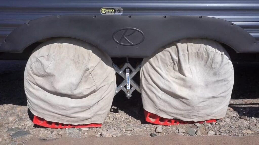 Cover Trailer Tires