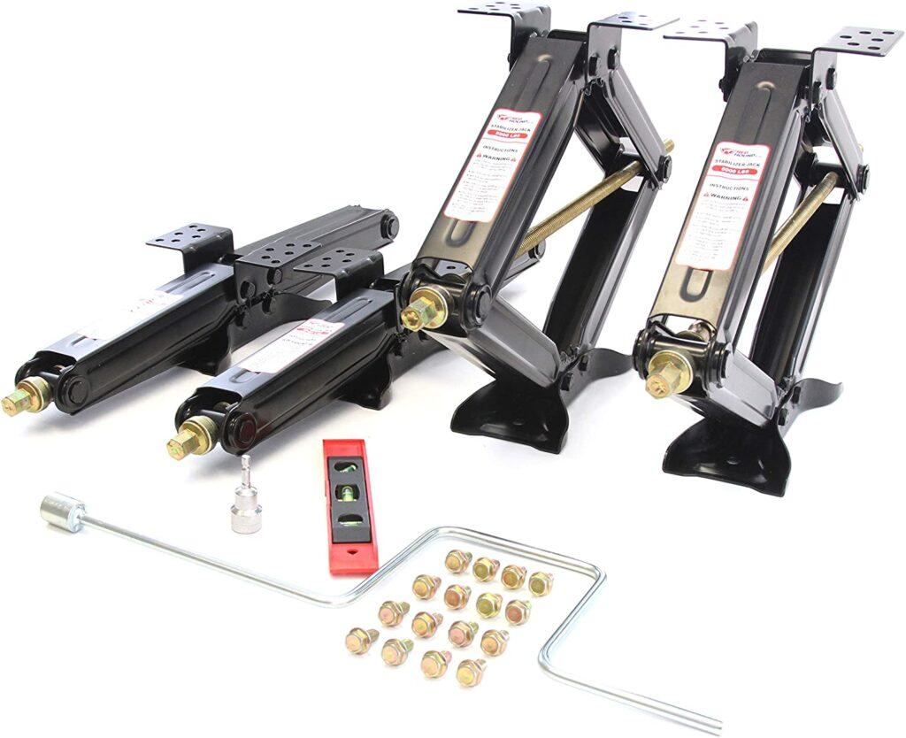 Auto Leveling And Stabilizer Jack